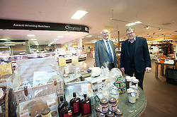 Pictured is Clydesdale and Yorkshire Bank's commercial relationship manager Michael Pickles, left, with Pennells Garden Centre chairman Richard Pennell in the new food hall which is part of the expansion which the bank helped finance.<br /> <br /> Clydesdale and Yorkshire Bank have helped Pennells Garden Centre finance a large expansion at their venue in South Hykeham, near Lincoln.<br /> <br /> Date: December 15, 2015<br /> Picture: Chris Vaughan/Chris Vaughan Photography