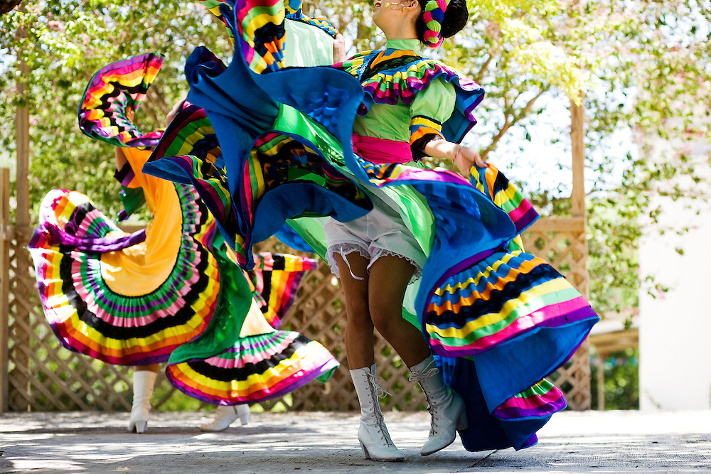 Charreadas at the Charro Ranch in San Antonio offer extra entertainment with mariachi bands and ballet folklorico performances by local dance troupes.