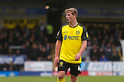 Burton Albion midfielder Jamie Allen (4) during the EFL Sky Bet League 1 match between Burton Albion and Luton Town at the Pirelli Stadium, Burton upon Trent, England on 27 April 2019.