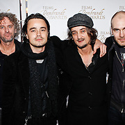 NLD/Amsterdam/20100322 -  Uitreiking Rembrandt Awards 2009, Kane met oa Dinand Woesthoff en Dennis van Leeuwen