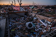 Nov. 17, 2013 - Washington, IL, USA - <br /> <br /> Deadly Tornadoes Hit Illinois<br /> A tornado left a trail of damage along Devonshire Road in Washington, Ill., on Sunday, Nov. 17, 2013. <br /> ©Exclusivepix