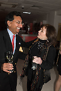 MANGAL KAPOOR; NANCY BECK, Liz Brewer Festive Celebration hosted by Daphne Mckinley Edwards chairman of the Sean Edwards , Foundation at Altitude. Millbank Tower, London SW1. 3 DECEMBER 2016.