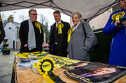 "Pictured: Keith Brown and SNP PPC John Nicholson<br /> <br /> Keith Brown joined SNP candidate for Ochil and South Perthshire, John Nicolson, on the campaign trail in Auchterarder today.    The SNP Depute Leader said that Scottish voters hold ""the key to locking Boris Johnson out of power.""<br />  <br /> Mr Brown welcomed local activists when they repaired to Cafe Kisa for a welcome warming drink.<br /> <br /> Ger Harley 