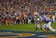 MORNING JOURNAL/DAVID RICHARD.Florida quarterback Tim Tebow during the BCS National Championship game vs. Ohio State.