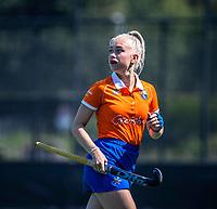 BLOEMENDAAL   - Sophie Goorhuis  tijdens de  oefenwedstrijd dames Bloemendaal-Victoria, te voorbereiding seizoen 2020-2021.   COPYRIGHT KOEN SUYK