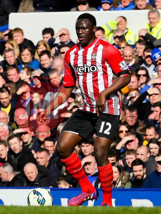 Southampton's Victor Wanyama  - Photo mandatory by-line: Matt McNulty/JMP - Mobile: 07966 386802 - 04/04/2015 - SPORT - Football - Liverpool - Goodison Park - Everton v Southampton - Barclays Premier League