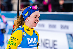 March 10, 2019 - –Stersund, Sweden - 190310 Mona Brorsson of Sweden looks dejected after  the Women's 10 km Pursuit during the IBU World Championships Biathlon on March 10, 2019 in Östersund..Photo: Petter Arvidson / BILDBYRÃ…N / kod PA / 92254 (Credit Image: © Petter Arvidson/Bildbyran via ZUMA Press)
