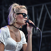 Nina Nesbitt is a Singer-songwriter a Scottish singer-songwriter performs at Kew the Music 2019 on 10 July 2019, London, UK.