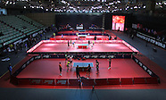 Table Tennis -Indian Open  Day 1 Tournament Preparations