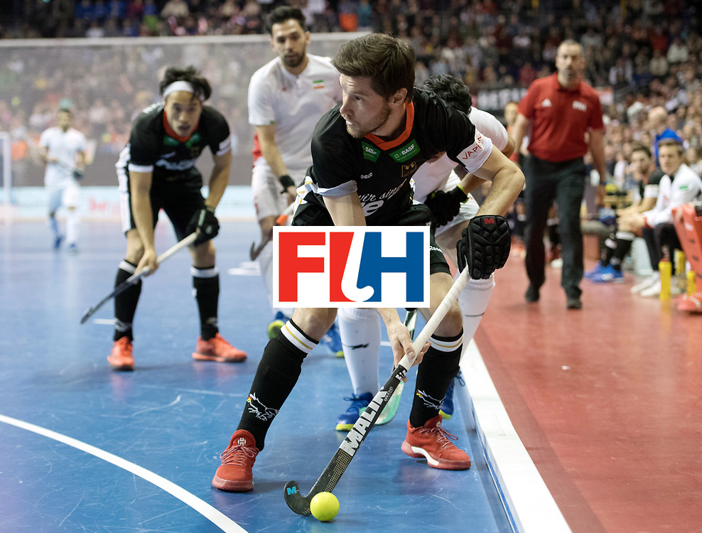 BERLIN - Indoor Hockey World Cup<br /> SF1 Germany - Iran<br /> foto: Martin Zwicker <br /> WORLDSPORTPICS COPYRIGHT FRANK UIJLENBROEK