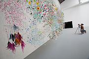 "12th Biennale of Architecture. Giardini. Biennale Pavillion. Andres Jaque Arquitectos, ""Fay Foam Home"", 2010."