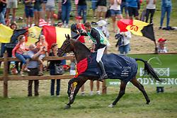 De Cleene Wouter, BEL, Alaric de Lauzelle<br /> European Championship Eventing Landelijke Ruiters - Tongeren 2017<br /> © Hippo Foto - Dirk Caremans<br /> 30/07/2017