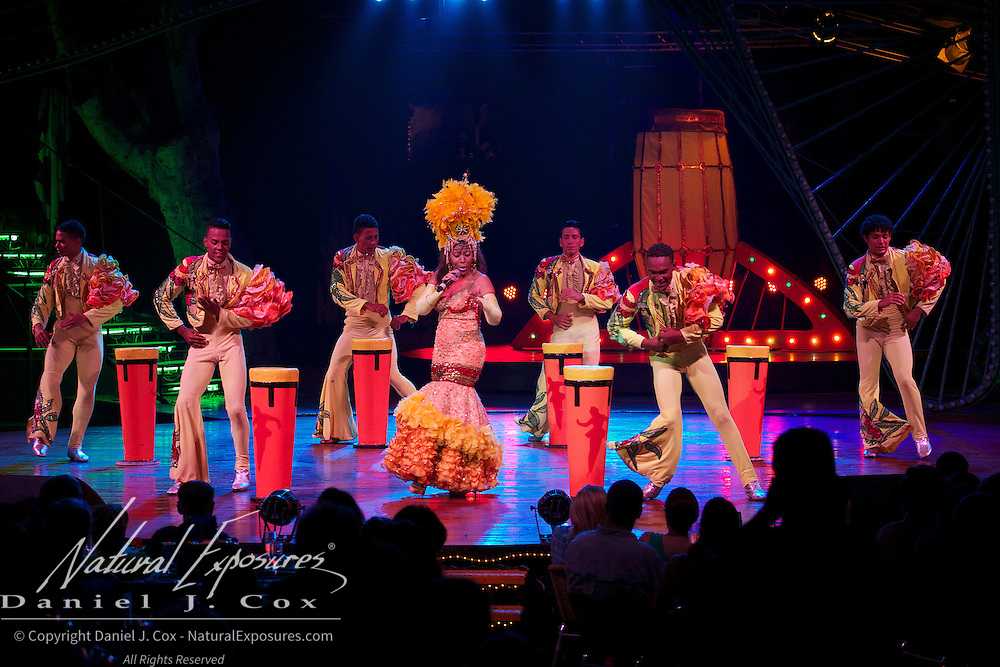 The Tropicana Club performance that has been running for over 70 years. Havana, Cuba.