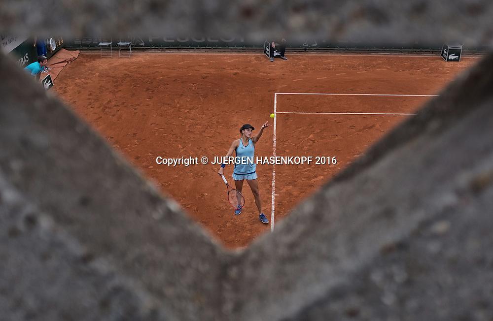 Tatjana Maria (GER)<br /> <br /> Tennis - French Open 2016 - Grand Slam ITF / ATP / WTA -  Roland Garros - Paris -  - France  - 26 May 2016.