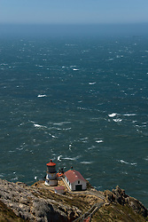 California: Lighthouse at Point Reyes National Seashore near San Francisco. Photo copyright Lee Foster. Photo # casanf81235b