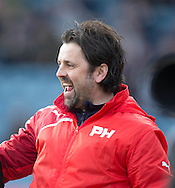 Dundee manager Paul Hartley delight - Dundee v Rangers in the Ladbrokes Scottish Premiership at Dens Park, Dundee.Photo: David Young<br /> <br />  - &copy; David Young - www.davidyoungphoto.co.uk - email: davidyoungphoto@gmail.com