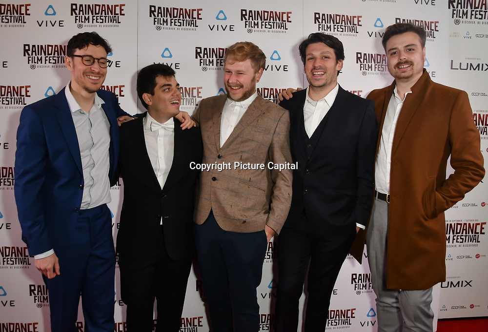 Madrid Noir team nominated attends the Raindance Film Festival - VR Awards, London, UK. 6 October 2018.