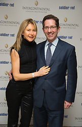 Jonathan Djanogly and his wife Rebecca  Djanogly attend the Opening of the Westminster InterContinental Hotel, Thursday February 28, Photo By Andrew Parsons / i-ImagesJon