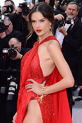 May 15, 2019, Cannes, France: ALESSANDRA AMBROSIO attends the premiere of 'Les Miserables' during the 72nd Cannes Film Festival at Palais des Festivals in Cannes.  (Credit Image: © Radoslaw Nawrocki/FORUM via ZUMA Press)