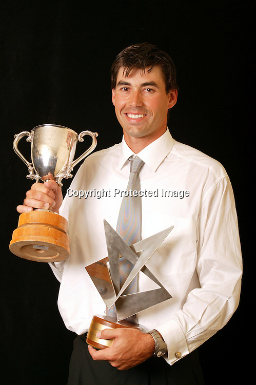 31 March 2004, New Zealand Cricket Awards, Crown Plaza, Auckland, New Zealand.<br />