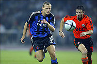 FOTBALL, 11. AUGUST 2004, DONETSK (UKR), <br />