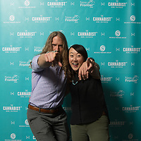 Scenes from the Photobooth at The Cannabist 420 Week Kickoff Party, hosted at The Denver Post on April 14, 2017. Photo by Andy Colwell/Special to The Cannabist