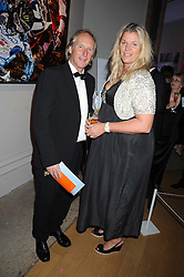 JOHN & BELLE ROBINSON founders of fashion label Jigsaw at the Royal Academy of Art's Summer Ball held at Burlington House, Piccadilly, London on 16th June 2008.<br /><br />NON EXCLUSIVE - WORLD RIGHTS