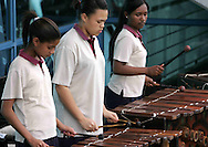 The Marimba band entertains during the opening ceremony of the BDO Women's Champions Challenge 1 held at the Hartleyvale Stadium in Cape Town, South Africa on the 11 October 2009 ..Photo by RG/www.sportzpics.net.+27 21 (0) 21 785 6814