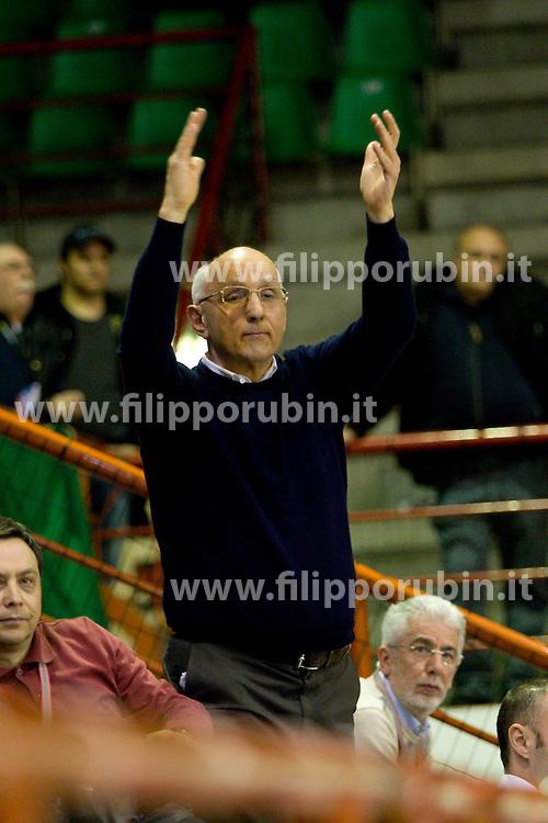 CARIPARMA SIGRADE PARMA - LIUJO CARPI.SEAT COPPA ITALIA A2 2009-2010.PARMA 27-02-2010.FOTO FILIPPO RUBIN - LVF