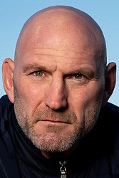 Lawrence Dallaglio poses for the Wasps Membership Campaign for the 2020/21 season - Mandatory by-line: Robbie Stephenson/JMP - 26/02/2020 - RUGBY - Twyford Avenue Sports Ground - London, England - Wasps Membership Campaign 2020/21
