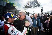 January 25-26, 2020. IMSA Weathertech Series. Rolex Daytona 24hr. Maurizio Reggiani, head of Lamborghini R&D, #48 Paul Miller Racing, Lamborghini Huracan GT3, GTD: Corey Lewis