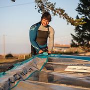 Banque Images du pont de Ré de Valentin Brault/windsurfer