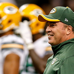 Oct 26, 2014; New Orleans, LA, USA; Green Bay Packers head coach Mike McCarthy before a game against the New Orleans Saints at the Mercedes-Benz Superdome. Mandatory Credit: Derick E. Hingle-USA TODAY Sports