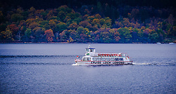Small passenger cruise boat on Loch Lomond, Scotland<br /> <br /> (c) Andrew Wilson | Edinburgh Elite media