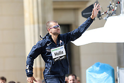 "05.09.2015, Brandenburger Tor, Berlin, GER, Leichtathletik Meeting, Berlin fliegt, im Bild Mark Hollis (USA) // during the Athletics Meeting ""Berlin flies"" at the Brandenburger Tor in Berlin, Germany on 2015/09/05. EXPA Pictures © 2015, PhotoCredit: EXPA/ Eibner-Pressefoto/ Eibner-Pressefoto<br /> <br /> *****ATTENTION - OUT of GER*****"