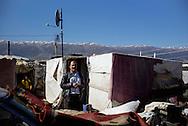 Flygtningelejr i Jeb Jenin. <br /> <br /> <br /> Refugee settelment in Jeb Jenin.