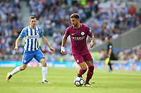 Football - 2017 / 2018 Premier League - Brighton and Hove Albion vs. Manchester City<br /> <br /> Kyle Walker of Manchester City in action at The Amex Stadium Brighton <br /> <br /> COLORSPORT/SHAUN BOGGUST