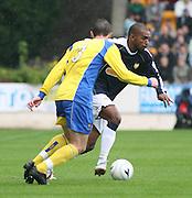 Dundee's Freddie Daquin  - St Johnstone v Dundee, McDiarmid Park, Perth, 18/08/2007