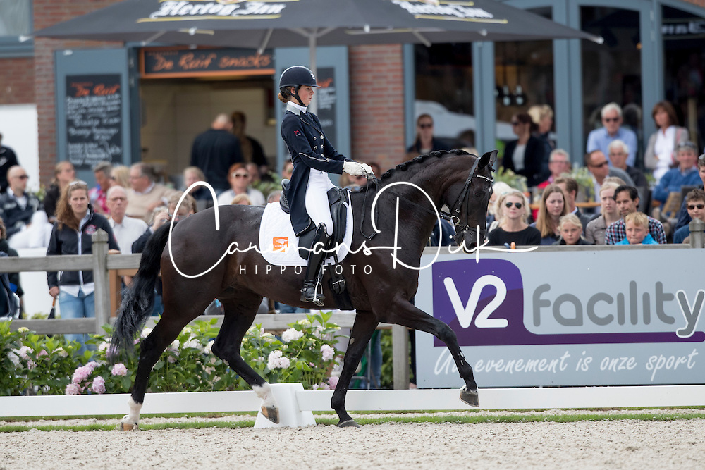 Klinkers Kyra, NED, Equirelle W<br /> Final 7 years of age<br /> World Championship Young Dressage Horses <br /> Ermelo 2016<br /> &copy; Hippo Foto - Dirk Caremans<br /> 31/07/16