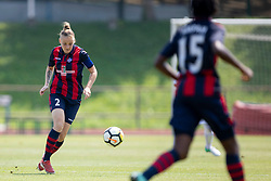 Polina Shatsilenia of FC Minsk during football match between FC Minsk and ZNK Olimpija Ljubljana in 2nd Qualifying Group of UEFA Women's Champions League 2018/19, on August 7, 2018 in Stadion ZAK, Ljubljana, Slovenia. Photo by Urban Urbanc / Sportida