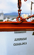 AFRICA; MOROCCO; TANGIER:  Ferry from Algeciras, Spain, to Tangier, Morocco, the Al<br /> Mansour-Casablanca.