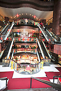 Asia, Southeast, People's Republic of China, Hong Kong. shopping mall