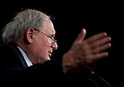 June 23, 2010 - Washington, District of Columbia, U.S., - Senator Carl Levin holds a press conference on the resignation Gen. Stanley McChrystal and President Obama's decision to ask Gen. David Petraeus to replace him as commander in Afghanistan. (Credit Image: © Pete Marovich/ZUMA Press)