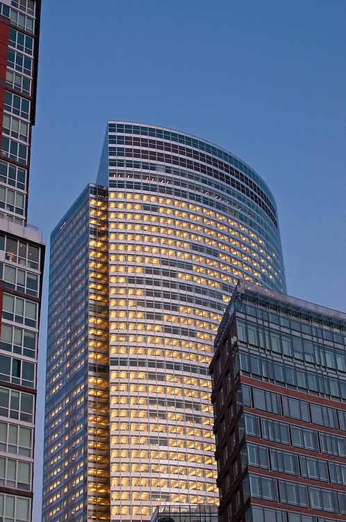 Goldman Sachs Headquarters , 200 West Street, New York City, New York,  by Harry Cobb of Pei Cobb Freed, and Battery Park City