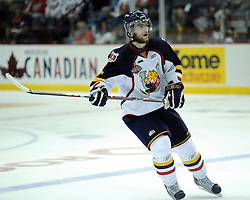 Alex Pietrangelo of the Barrie Colts in Game 3 of the Rogers OHL Championship Series in Windsor on Sunday May 2. Photo by Aaron Bell/OHL Images