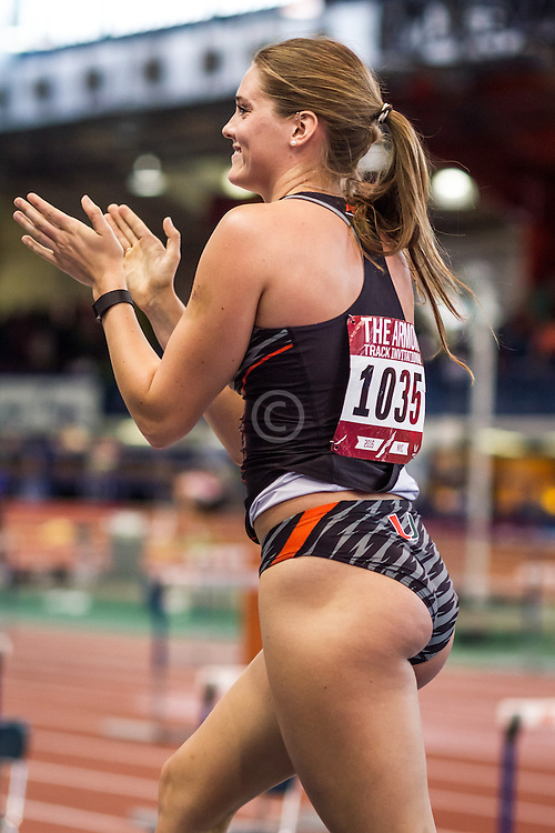 Newman, Univ Miami, womens pole vault, Armory Track Invitational Indoor,