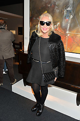 AMANDA ELIASCH at the PAD London 10th Anniversary Collector's Preview, Berkeley Square, London on 3rd October 2016.