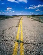 Abandoned Highway along the Snake River in Southwest Idaho.