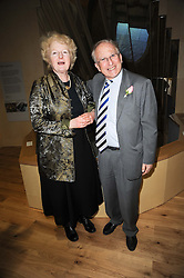 BARONESS JULIA NEUBERGER and LORD JANNER of Braunstone at the opening reception of the new Jewish Museum, Raymond Burton House, 129-131 Albert Street, London NW1 on 16th March 2010.
