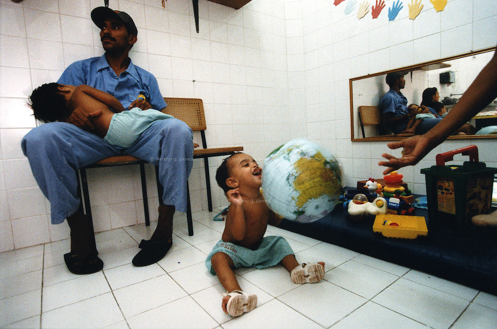 Brasil , Fortaleza , March 1999 - City hospital: children waiting to have surgery.<br /> <br /> <br /> Operation Smile is a private, not-for-profit volunteer medical services organization providing reconstructive surgery and related health care to indigent children worldwide.